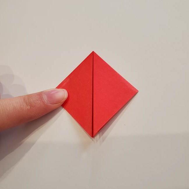ぷっくり 風船金魚の折り紙の折り方作り方(4)