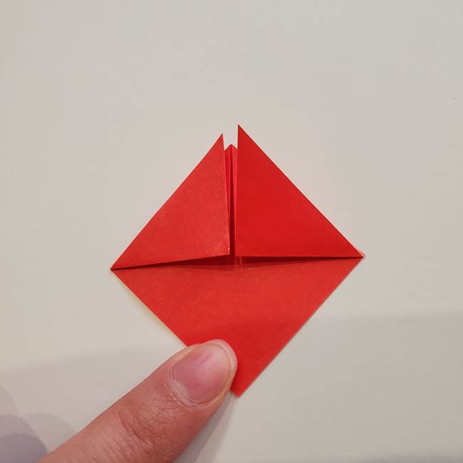 ぷっくり 風船金魚の折り紙の折り方作り方(5)
