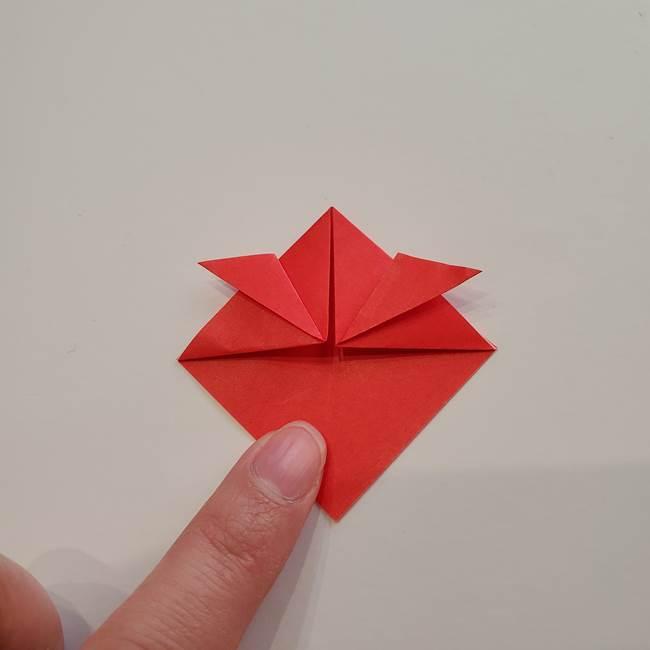 ぷっくり 風船金魚の折り紙の折り方作り方(6)