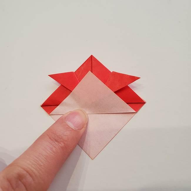 ぷっくり 風船金魚の折り紙の折り方作り方(7)