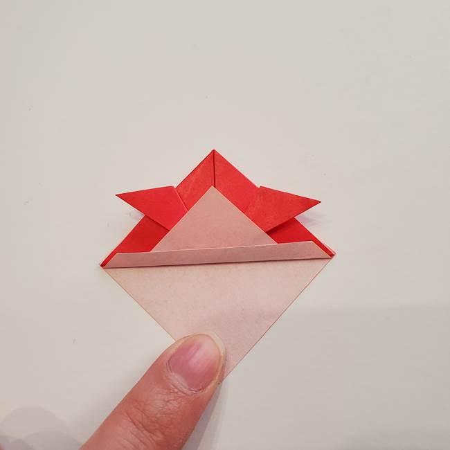 ぷっくり 風船金魚の折り紙の折り方作り方(8)