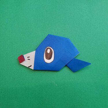 ポケモンの折り紙 アシマリの折り方作り方!簡単に作れるキャラクター