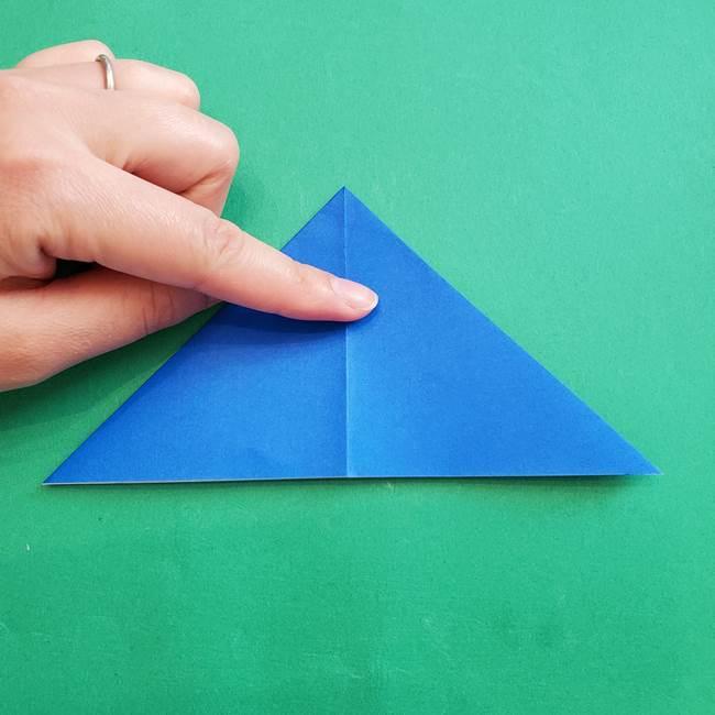 ポケモンの折り紙 アシマリの折り方作り方(10)