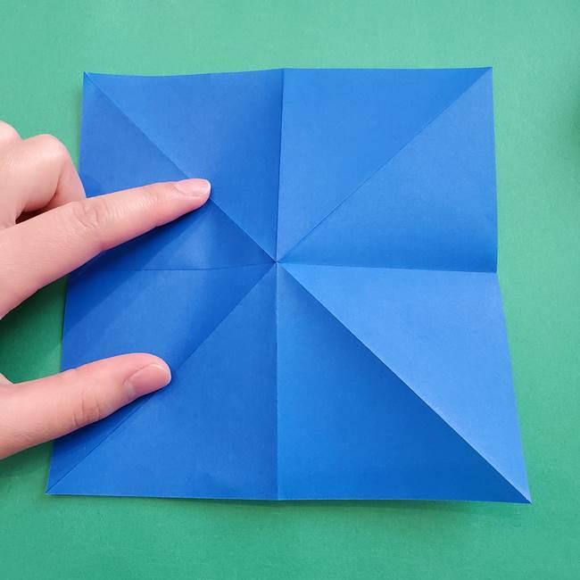 ポケモンの折り紙 アシマリの折り方作り方(11)