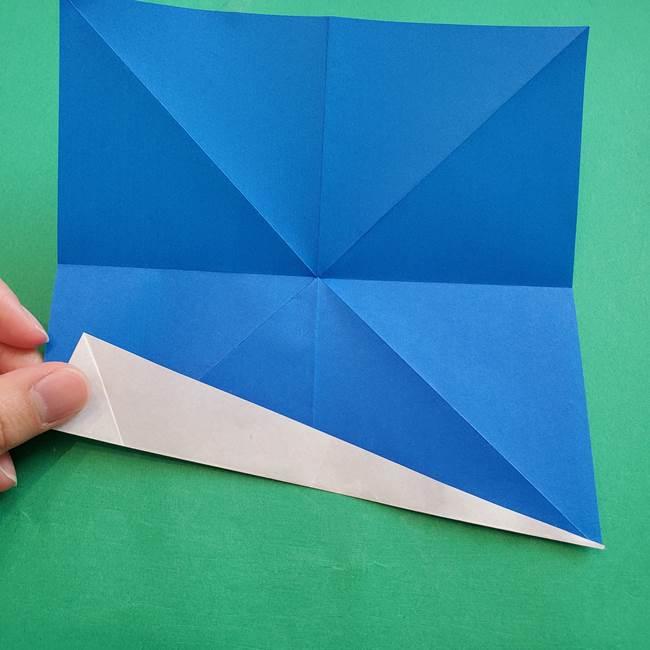 ポケモンの折り紙 アシマリの折り方作り方(12)