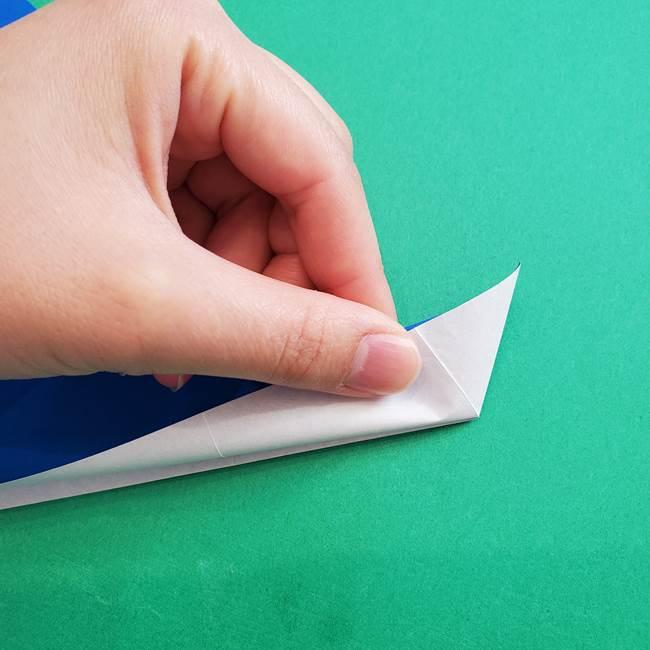 ポケモンの折り紙 アシマリの折り方作り方(17)