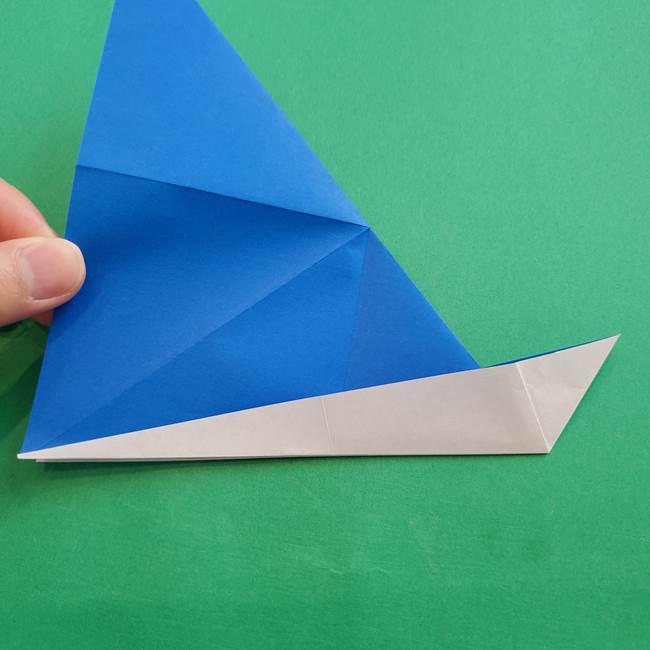 ポケモンの折り紙 アシマリの折り方作り方(18)