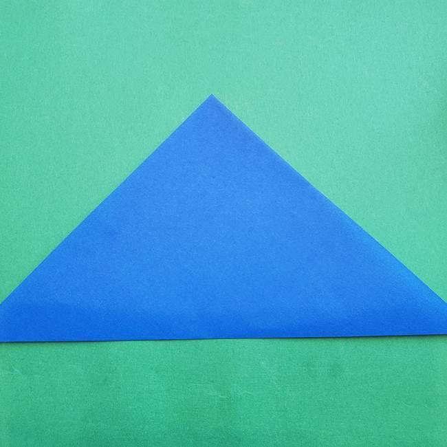 ポケモンの折り紙 アシマリの折り方作り方(2)