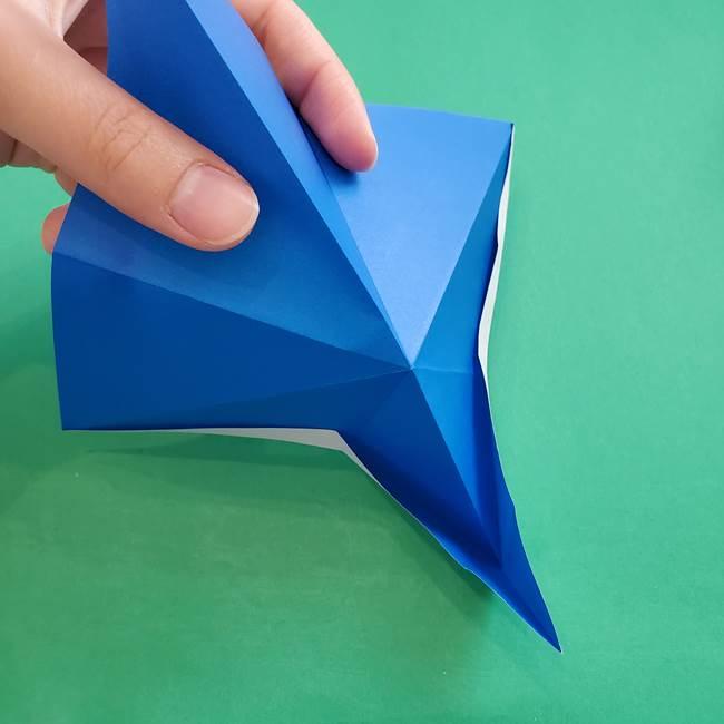 ポケモンの折り紙 アシマリの折り方作り方(20)