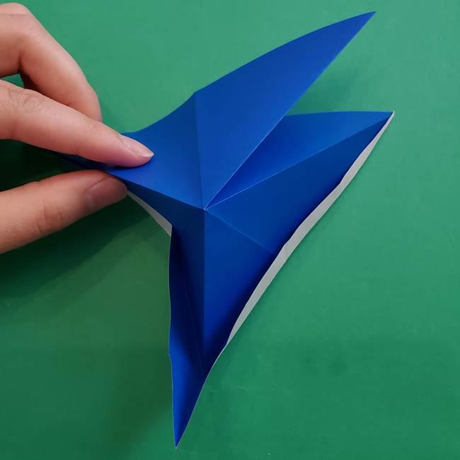ポケモンの折り紙 アシマリの折り方作り方(21)