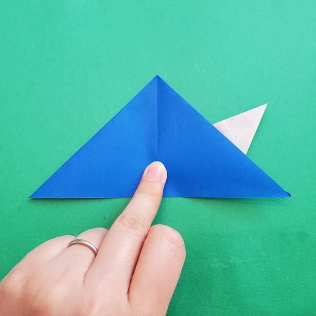 ポケモンの折り紙 アシマリの折り方作り方(25)