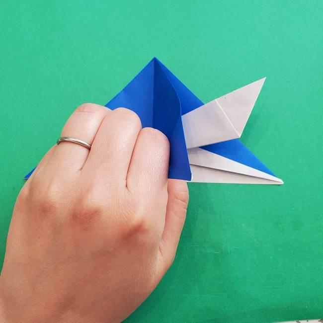 ポケモンの折り紙 アシマリの折り方作り方(26)