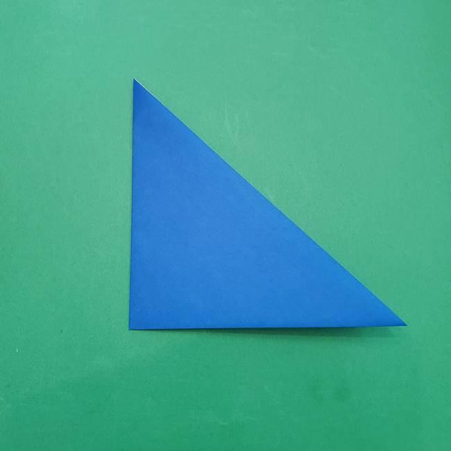 ポケモンの折り紙 アシマリの折り方作り方(3)