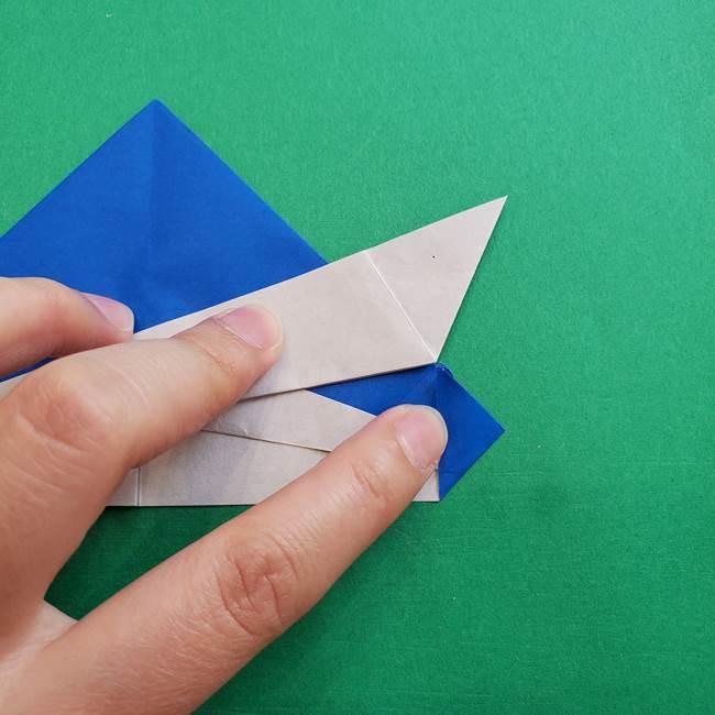 ポケモンの折り紙 アシマリの折り方作り方(30)