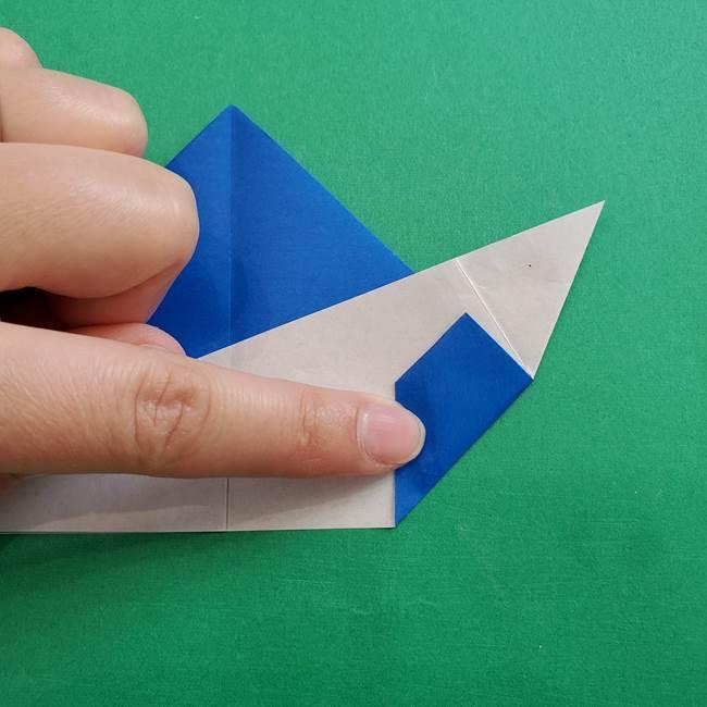 ポケモンの折り紙 アシマリの折り方作り方(31)