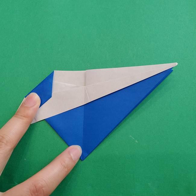 ポケモンの折り紙 アシマリの折り方作り方(32)
