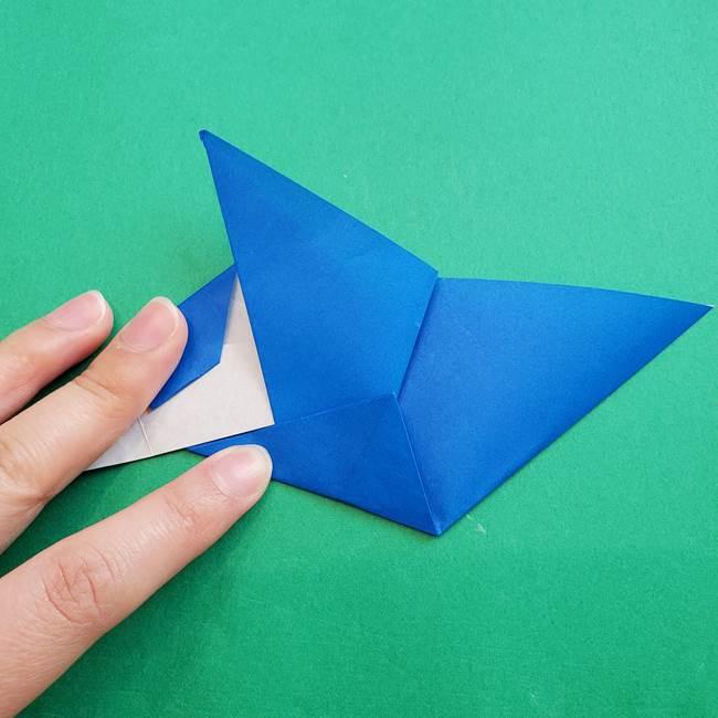 ポケモンの折り紙 アシマリの折り方作り方(34)