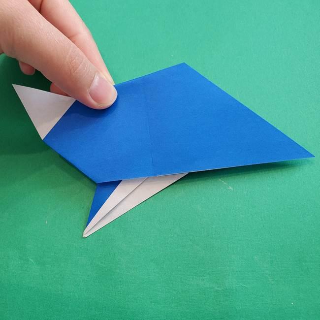 ポケモンの折り紙 アシマリの折り方作り方(35)