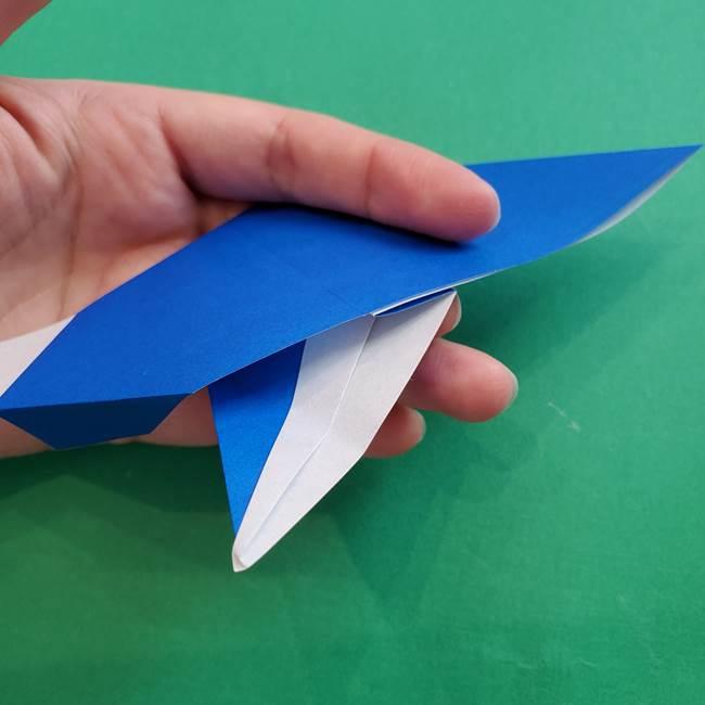 ポケモンの折り紙 アシマリの折り方作り方(36)