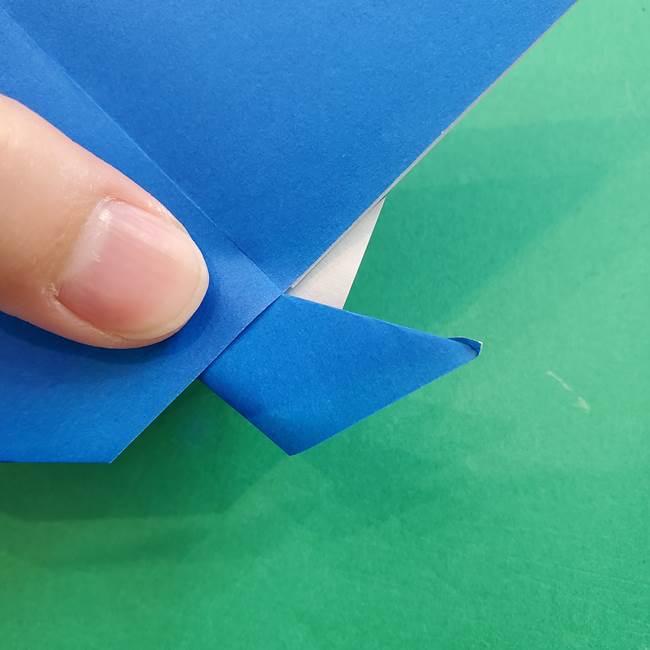ポケモンの折り紙 アシマリの折り方作り方(37)