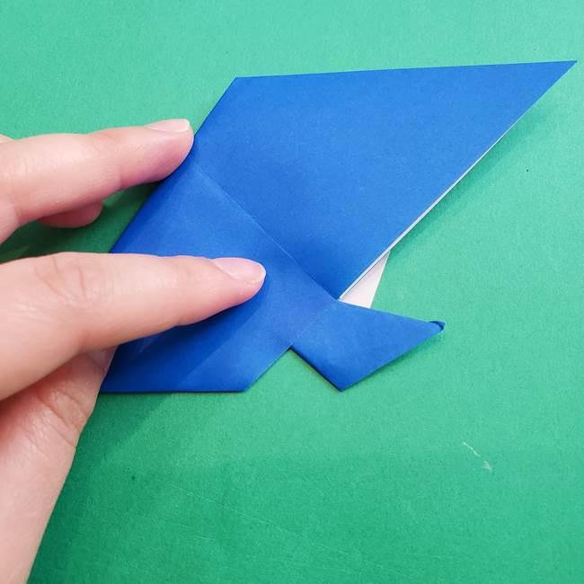 ポケモンの折り紙 アシマリの折り方作り方(38)