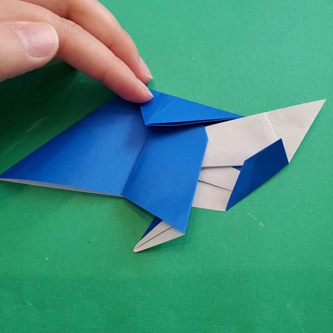 ポケモンの折り紙 アシマリの折り方作り方(39)
