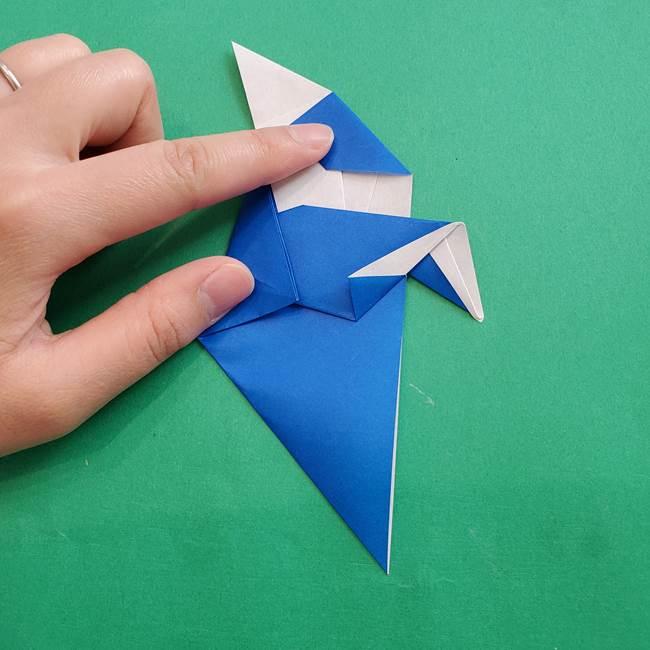 ポケモンの折り紙 アシマリの折り方作り方(41)