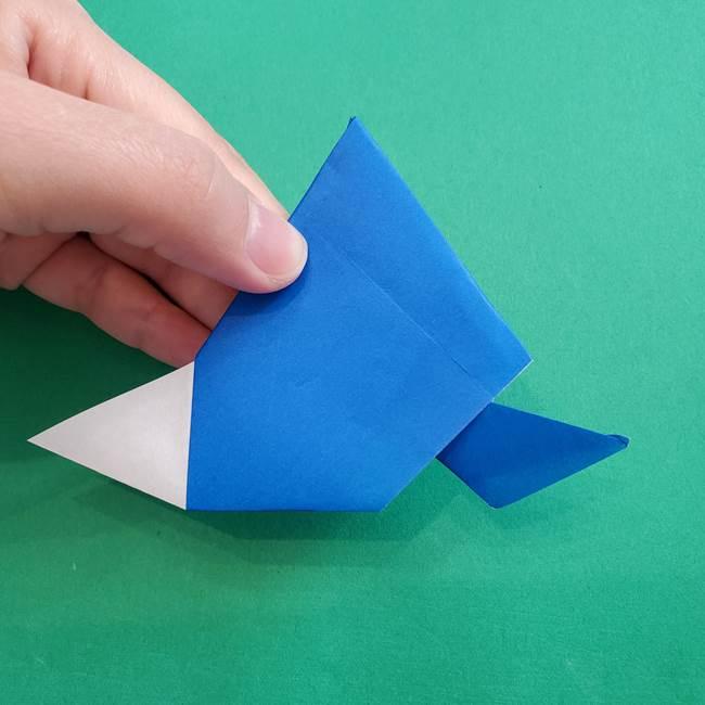 ポケモンの折り紙 アシマリの折り方作り方(43)