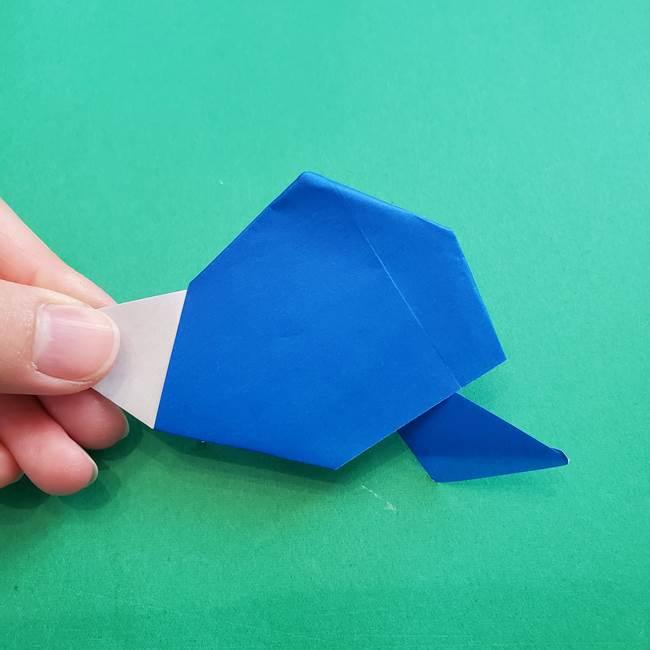 ポケモンの折り紙 アシマリの折り方作り方(44)