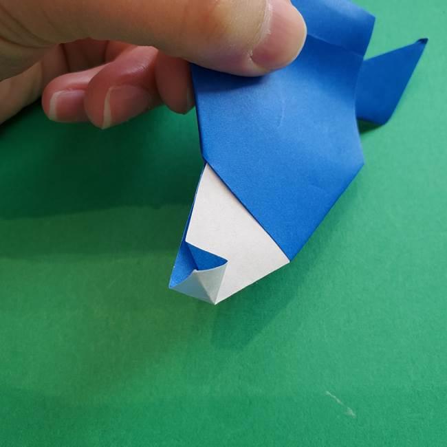 ポケモンの折り紙 アシマリの折り方作り方(46)