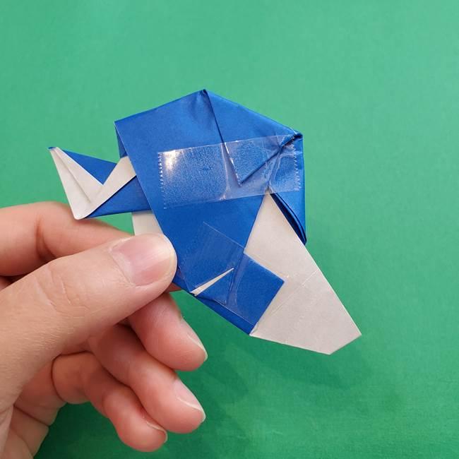 ポケモンの折り紙 アシマリの折り方作り方(48)