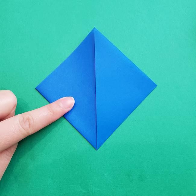 ポケモンの折り紙 アシマリの折り方作り方(7)