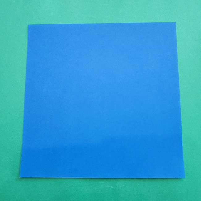 ポケモンの折り紙 アシマリ*用意するもの(1)
