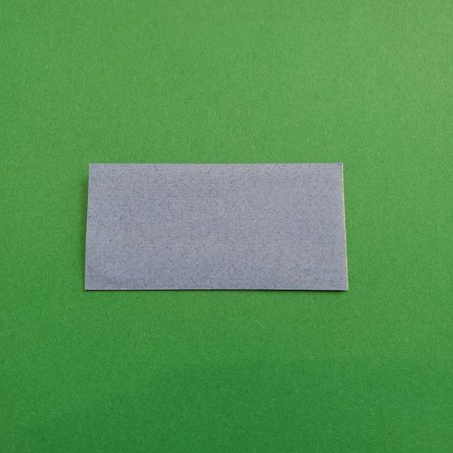 ポケモンの折り紙 簡単なゼニガメの折り方作り方①顔(2)