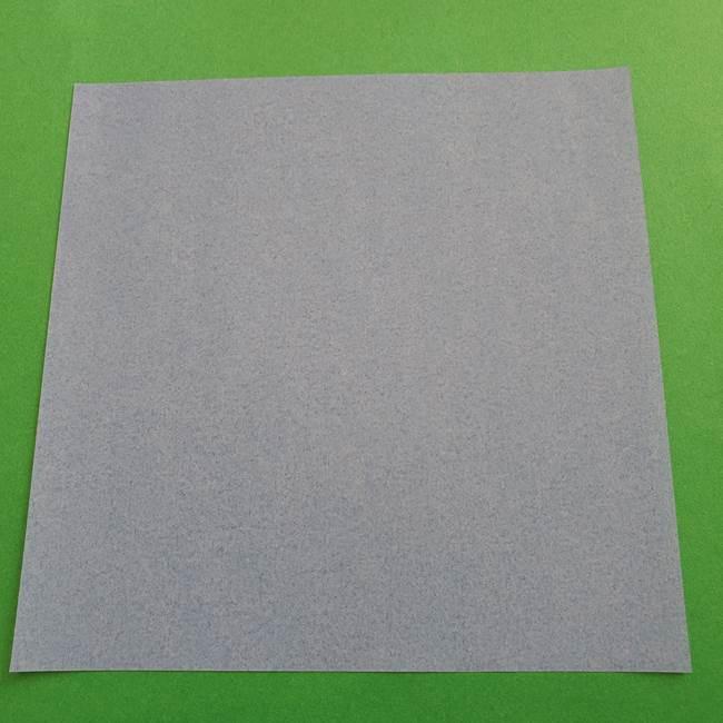 ポケモンの折り紙 簡単なゼニガメの折り方作り方②体(1)