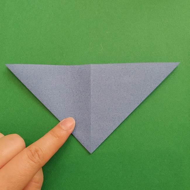 ポケモンの折り紙 簡単なゼニガメの折り方作り方②体(11)