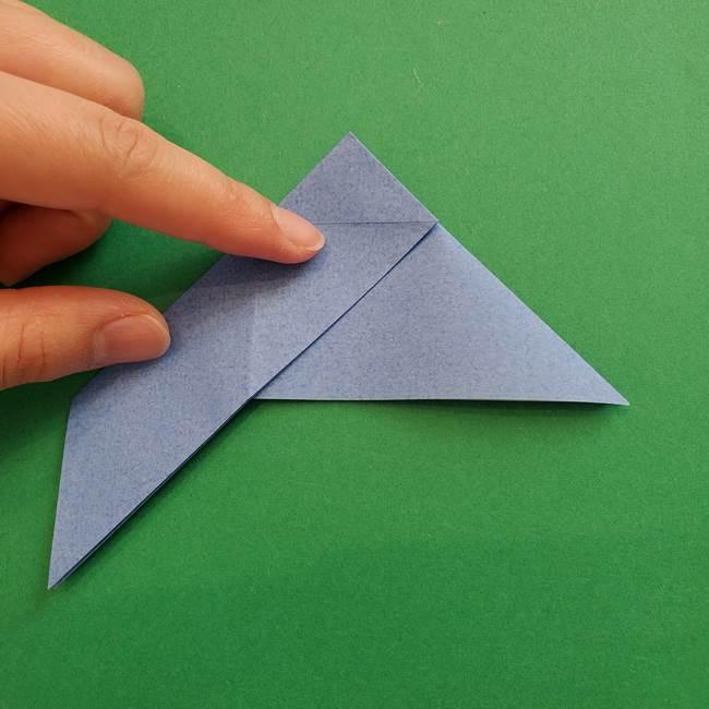 ポケモンの折り紙 簡単なゼニガメの折り方作り方②体(14)