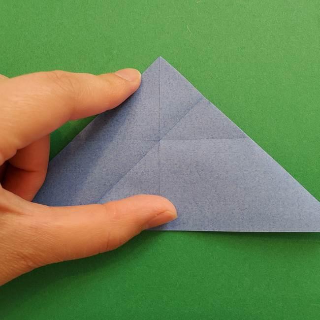 ポケモンの折り紙 簡単なゼニガメの折り方作り方②体(15)