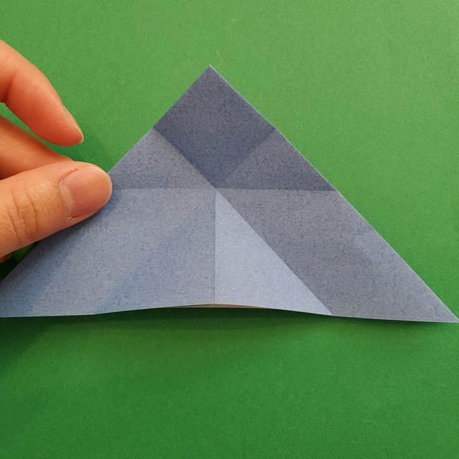 ポケモンの折り紙 簡単なゼニガメの折り方作り方②体(16)