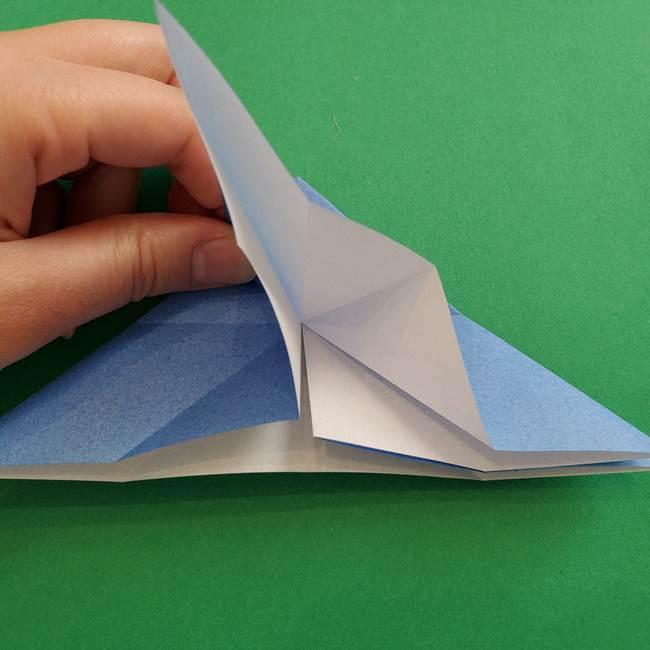 ポケモンの折り紙 簡単なゼニガメの折り方作り方②体(17)