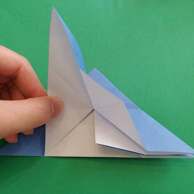 ポケモンの折り紙 簡単なゼニガメの折り方作り方②体(18)