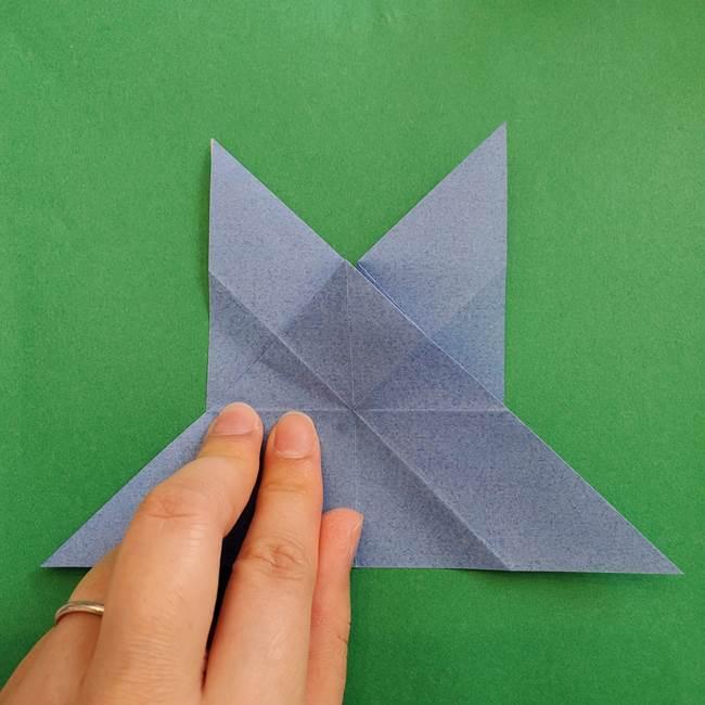 ポケモンの折り紙 簡単なゼニガメの折り方作り方②体(20)
