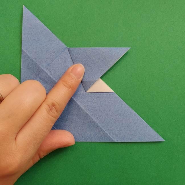 ポケモンの折り紙 簡単なゼニガメの折り方作り方②体(22)