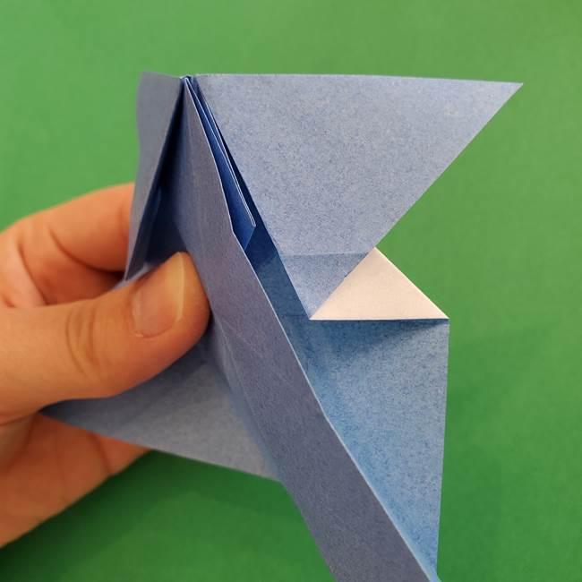 ポケモンの折り紙 簡単なゼニガメの折り方作り方②体(24)