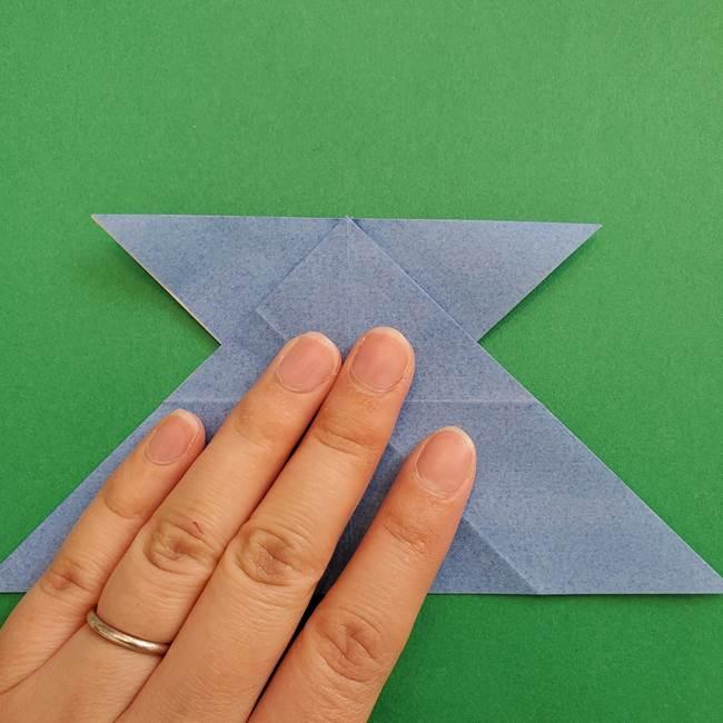 ポケモンの折り紙 簡単なゼニガメの折り方作り方②体(25)