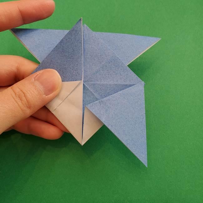 ポケモンの折り紙 簡単なゼニガメの折り方作り方②体(29)