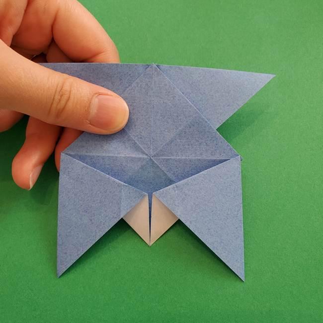 ポケモンの折り紙 簡単なゼニガメの折り方作り方②体(30)