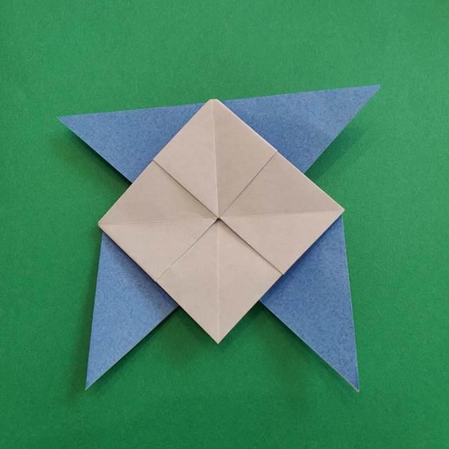 ポケモンの折り紙 簡単なゼニガメの折り方作り方②体(31)
