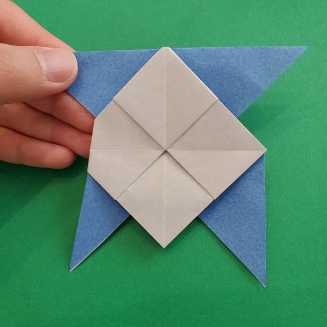 ポケモンの折り紙 簡単なゼニガメの折り方作り方②体(32)