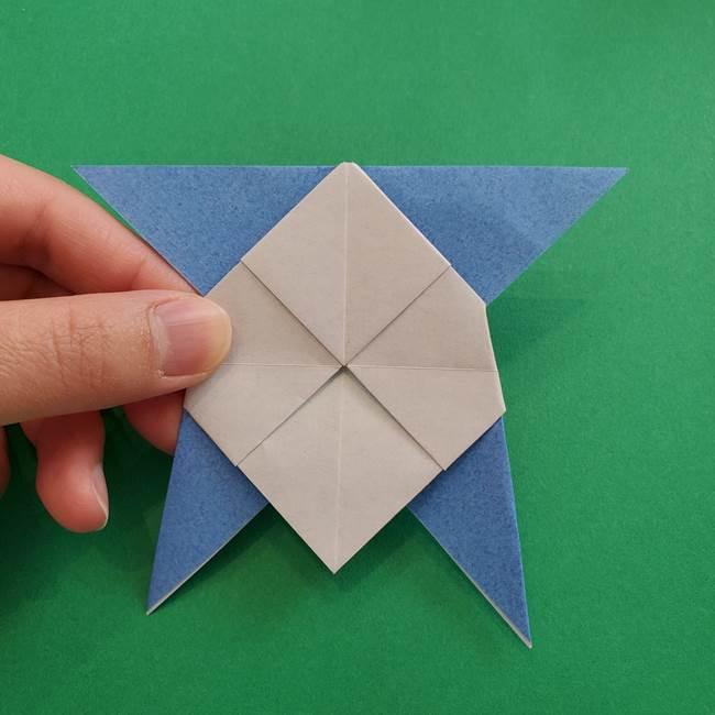 ポケモンの折り紙 簡単なゼニガメの折り方作り方②体(33)